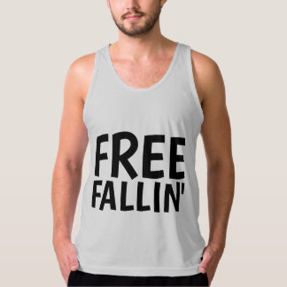 FREE FALLIN' Vintage T-shirts, Men's Singlet
