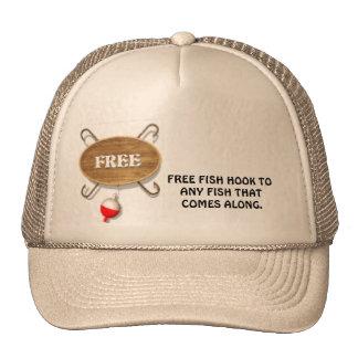 FREE  FISHHOOKS CAP