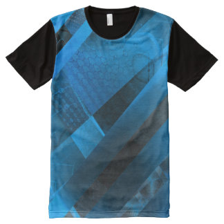 Free Floating (blue) All-Over Print T-Shirt