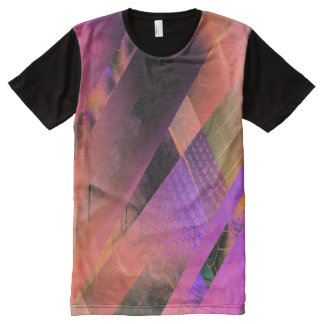 Free Floating (earth) All-Over Print T-Shirt