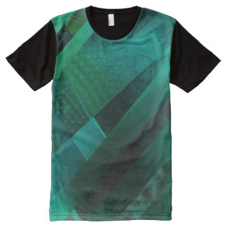 Free Floating (green) All-Over Print T-Shirt