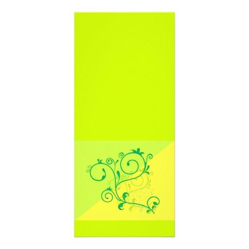 Free-Floral-Graphics.jpg Lemon Lime digital swirls Personalized Rack Card