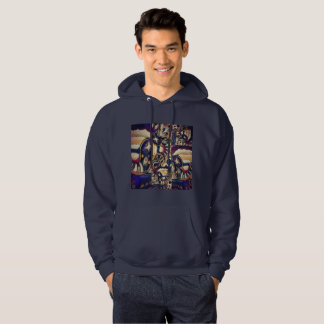 Free Flow abstract design Hoodie
