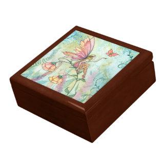Free Flower Fairy Trinket Box