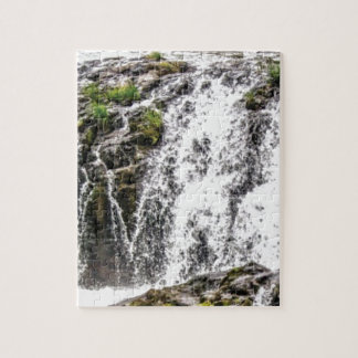 free flowing falls jigsaw puzzle