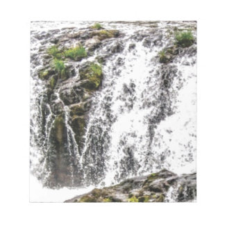 free flowing falls notepad