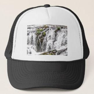 free flowing falls trucker hat