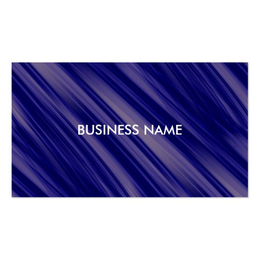 Free Flowing Movement Abstract Business Card Template