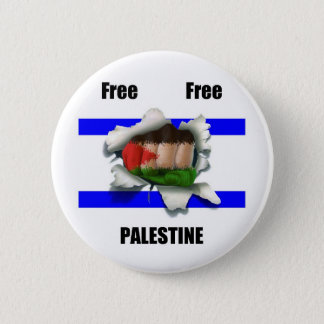 Free Free Palestine 6 Cm Round Badge