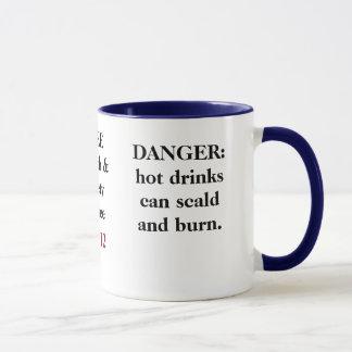 FREE Funny Health and Safety Advice - Tip 11 Mug
