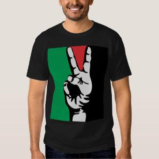 free gaza free palestine PEACE FLAG Tshirt