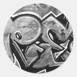 Free Graffiti Round Sticker