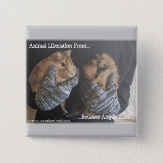 Free Guinea Pigs 15 Cm Square Badge