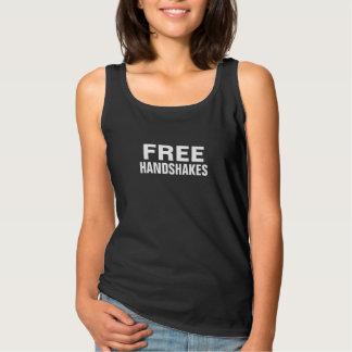 Free Handshakes Women's Tank Top