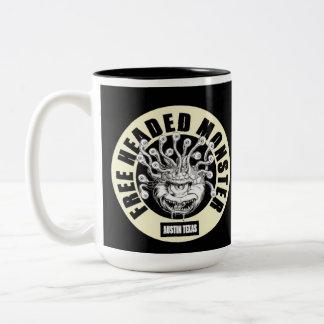free headed monster mug