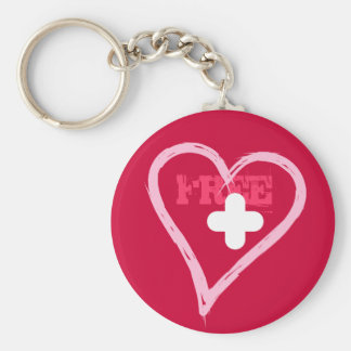 Free healed Heart ready for new love Keychain