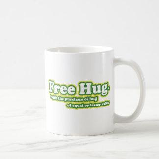 Free Hug Hugs Parody novelty Coffee Mug
