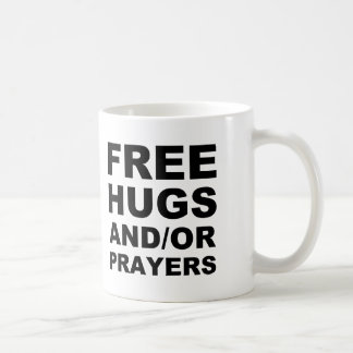 Free Hugs And Or Prayers Christian Mug Travel Mug