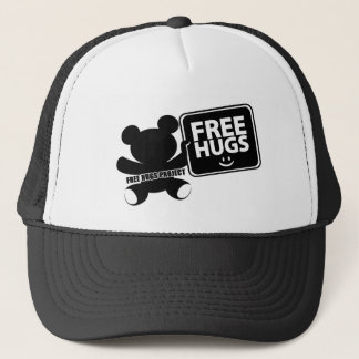 Free Hugs Bear Trucker Hat