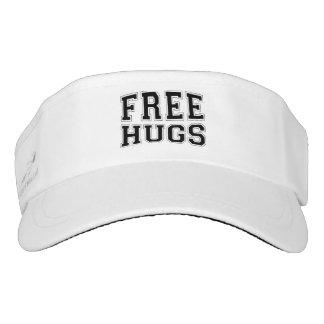 Free Hugs Black Text Design College Font Visor
