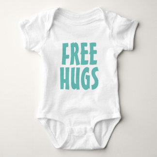 FREE HUGS bodysuit for new baby boy or girl