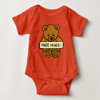 Free Hugs clothing Baby Bodysuit