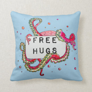 free hugs cushion