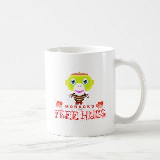 Free Hugs-Cute Monkey-Morocko Coffee Mug