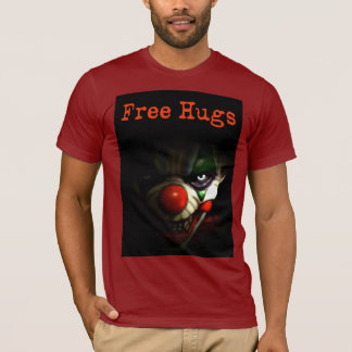 Free Hugs - Evil Clown T-Shirt