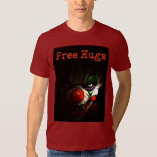 Free Hugs - Evil Clown T-shirts