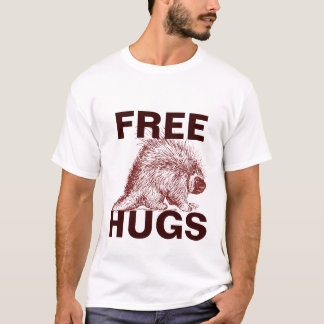 Free Hugs (from a porcupine) Vintage look T-Shirt