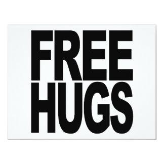 Free Hugs Custom Invite