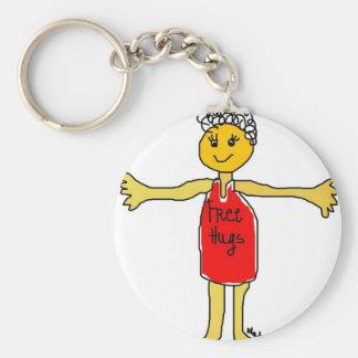 free hugs key ring