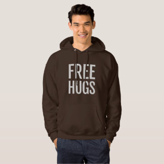 Free Hugs Men's Basic Hooded Sweatshirt