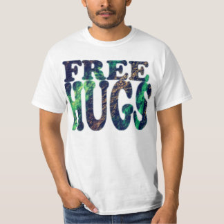 FREE HUGS Metallic T-Shirt