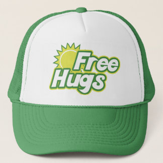 Free Hugs Novelty Trucker Hat