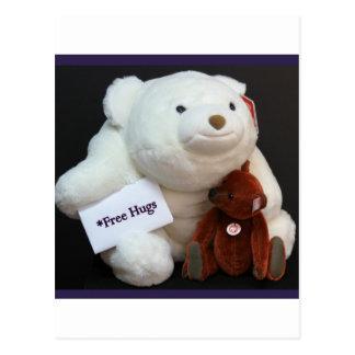 Free Hugs Postcard