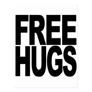Free Hugs Post Cards