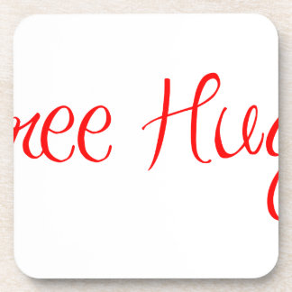 free-hugs-sexy-red.png drink coaster
