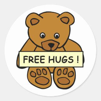 Free Hugs stickers
