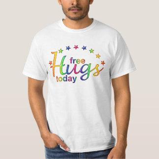 FREE HUGS TODAY - star shine T-Shirt