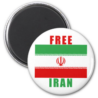 Free Iran Products Refrigerator Magnet