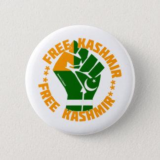 Free Kashmir 6 Cm Round Badge