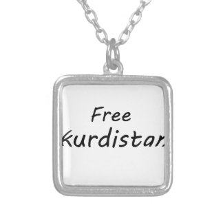 Free Kurdistan Silver Plated Necklace