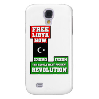 Free Libya Now Galaxy S4 Cover