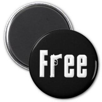 Free 6 Cm Round Magnet