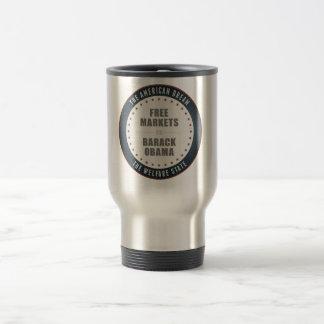 Free Markets Versus Obama Coffee Mugs