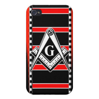 Free Mason (Master Mason) iPhone 4 Case