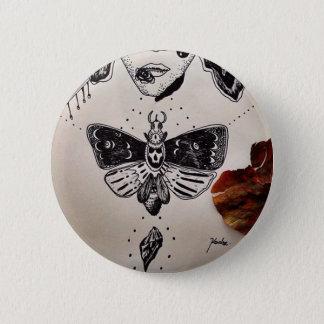 free me 6 cm round badge