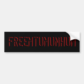 Free Mt. Umunhum Bumper Sticker